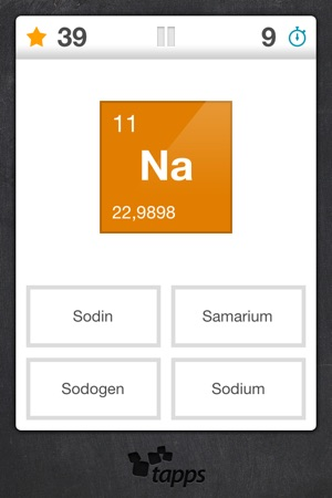 Elements periodic table element quiz on the app store urtaz Images