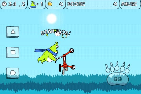 Bear on a Wire - Free Ride screenshot-3