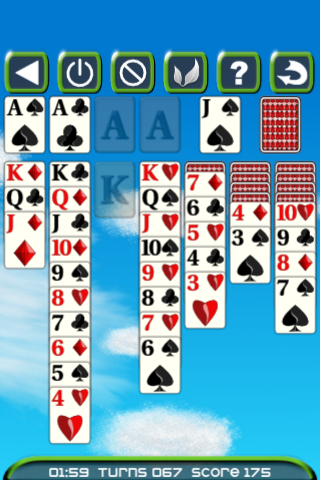 DC Solitaire screenshot one