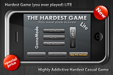 THE HARDEST GAME (you ever played) LITE