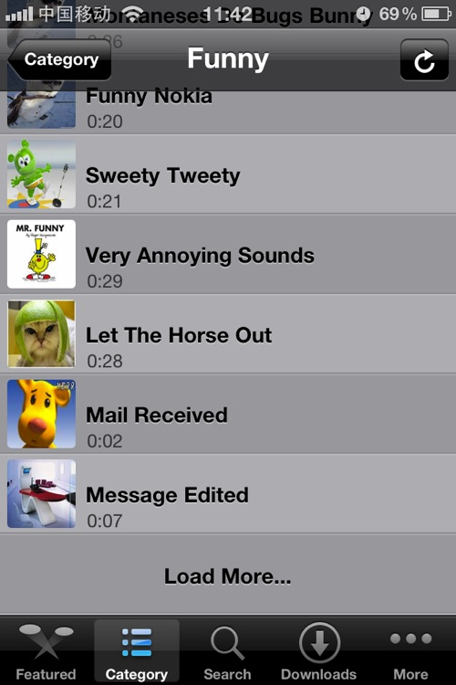 ★Funny Ringtones♫ In ONE screenshot-3