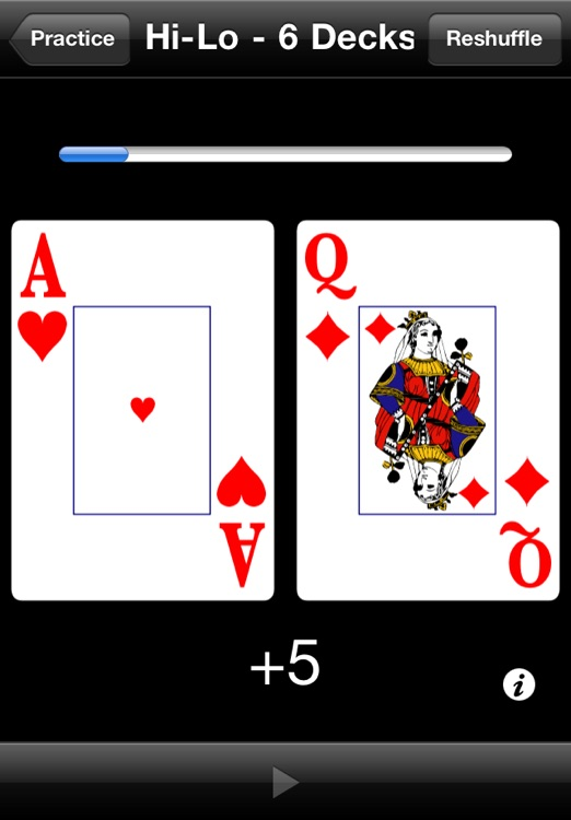 Card Counting Practice screenshot-2