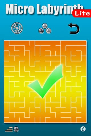 Micro Labyrinth Free screenshot four