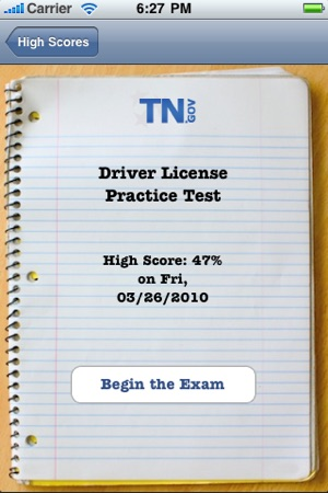 tennessee driver license practice test on the app store