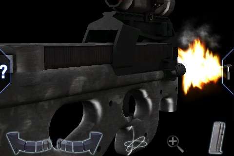FN P90 3D lite - GunClub Edition screenshot-1