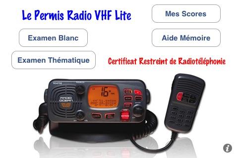 Permis Radio VHF CRR Lite
