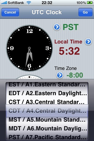 UTC Clock screenshot-2