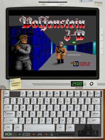 iDOS на iPad