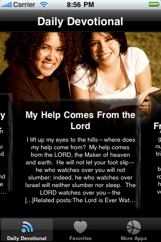 Daily Devotions for Women - Walking with God using Bible Devotions screenshot-0