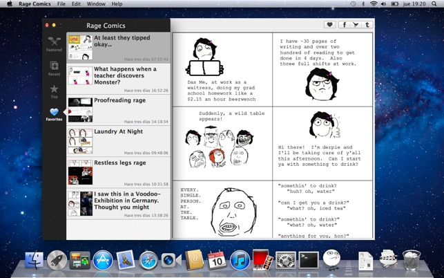 Rage Comics on the Mac App Store