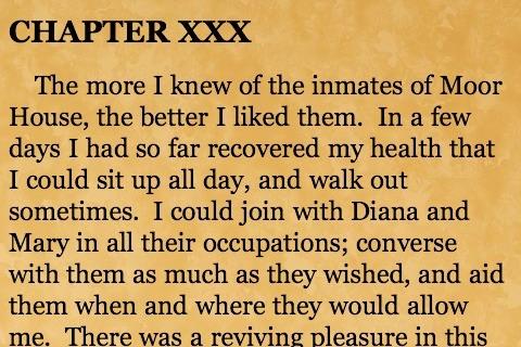 Jane Eyre (by Charlotte Bronte) screenshot-3