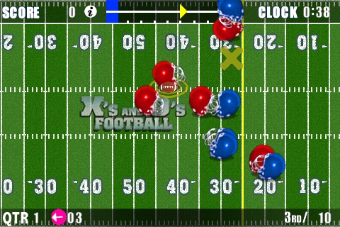 X's and O's Football® Lite - Call and Run Your Own Football Plays! screenshot-0