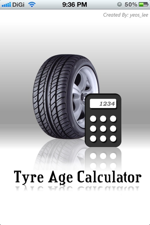 Tyre Age Calculator