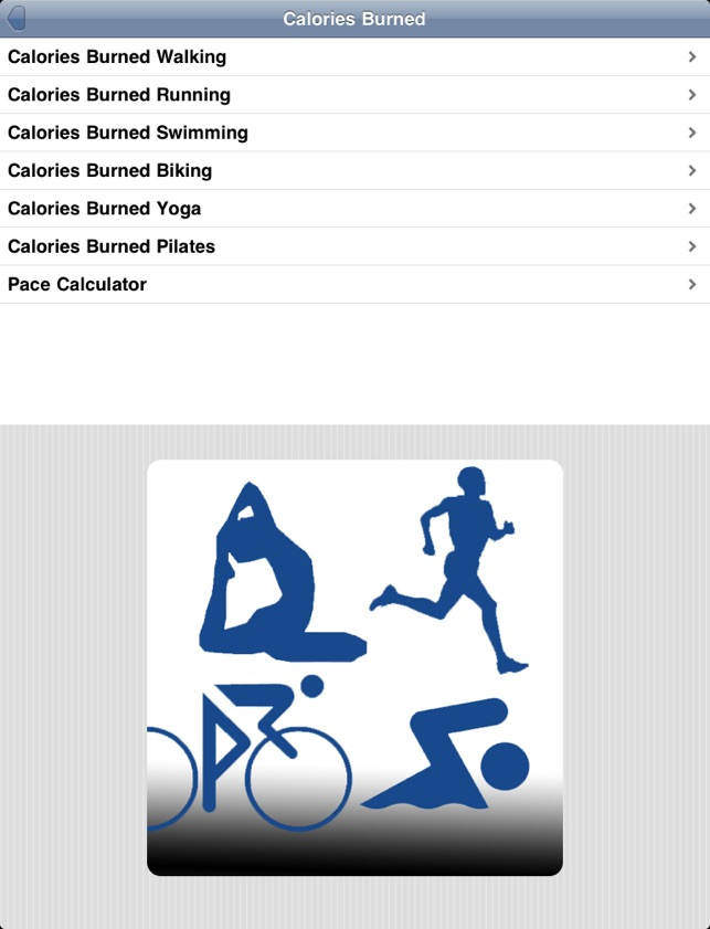 calories burned on the app store