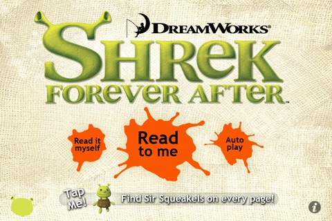 Shrek Forever After- Kids' Book HD screenshot-0