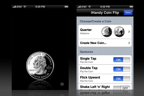 Coin Flip Premium screenshot-1