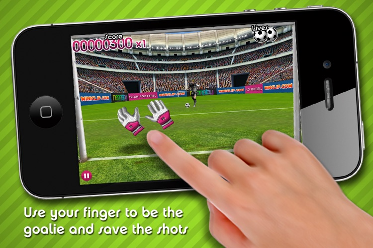 Flick Football Super Save screenshot-0