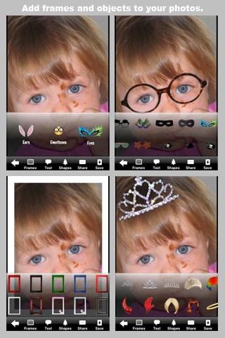 Camera ClickMe Free: Self Portrait using face detection screenshot-3