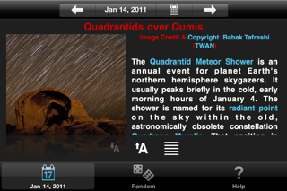 APODViewerLite - Astronomy Picture of the Day screenshot four