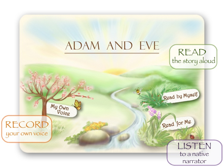 Bible Stories for Children: Adam and Eve HD