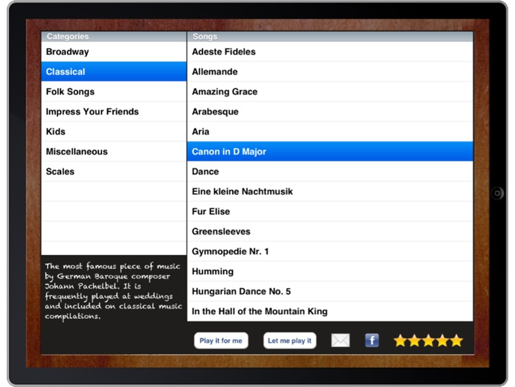 ezPiano for iPad: 100+ Songs with Full Accompaniment! screenshot-1