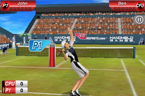 TouchSports™ Tennis screenshot-4