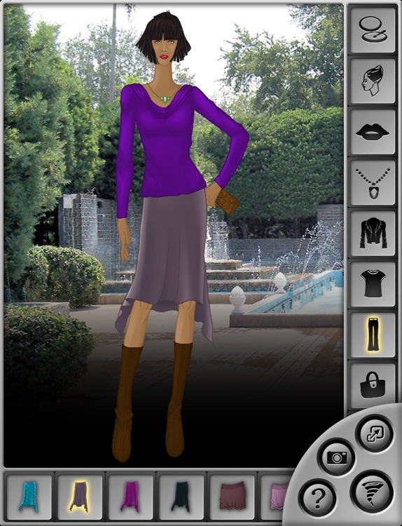 Fashion Sketchbook: The Stylish Dress Up Game for iPad screenshot-3