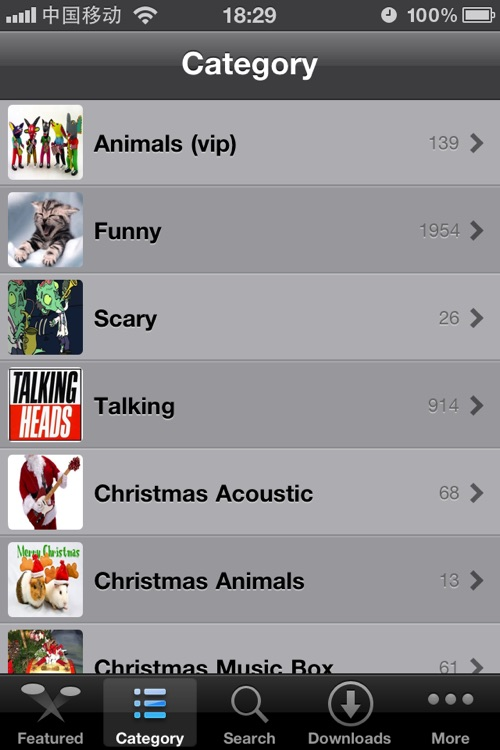 ★Funny Ringtones♫ In ONE screenshot-1
