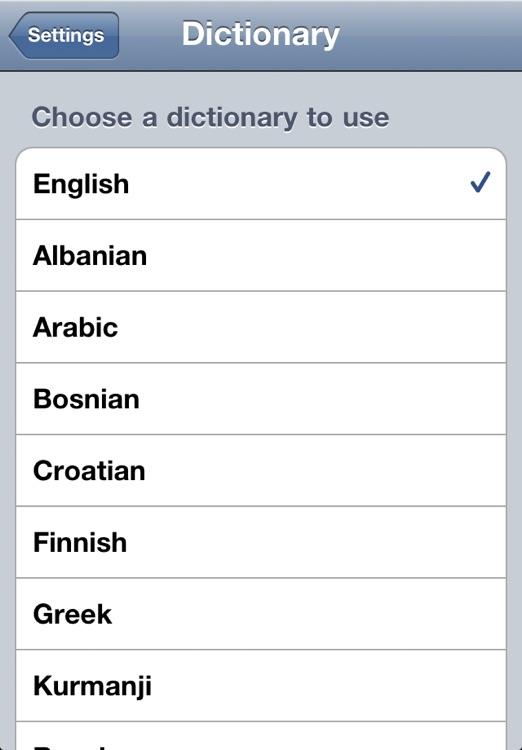 Lexikon Swedish - English Dictionary screenshot-3