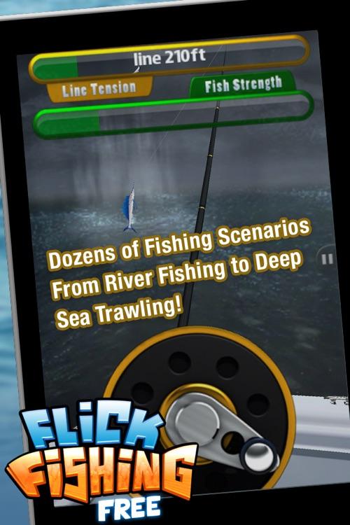 Flick Fishing FREE screenshot-4