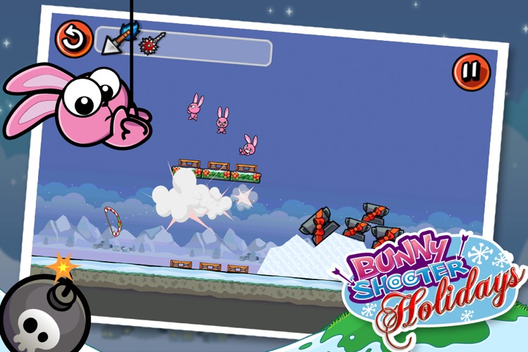 Bunny Shooter Christmas - a Free Game by the Best, Cool & Fun Games screenshot-3
