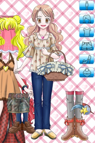 Dress Up Girl Lite screenshot-0