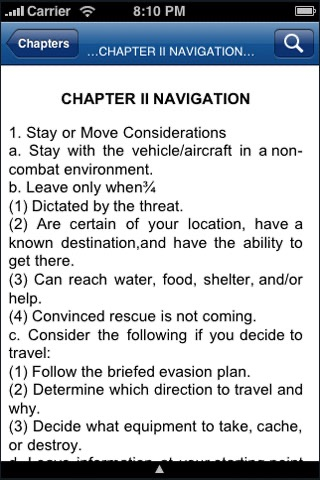 iSurvive - Military Grade Survival Manual screenshot-3