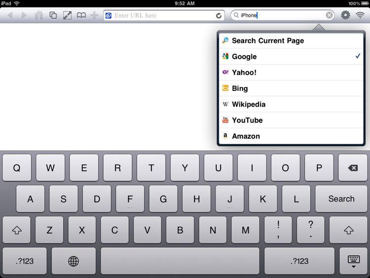 FB Browser - FullScreen Browser with Desktop Tabs & Private Browsing screenshot-3