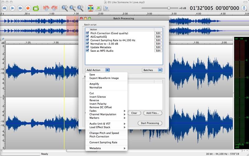 音频编辑 TwistedWave  for Mac