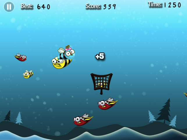 Bee Boo HD Lite, game for IOS