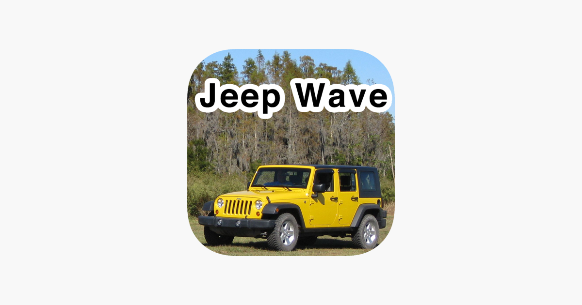 jeep drivers wave at each other