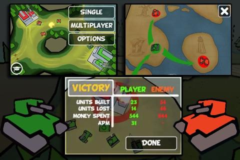 Tap Tanks - Doodle Style 3D RTS screenshot-3