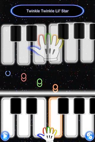 Glow Piano Lessons Screenshot 1