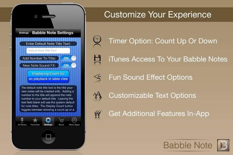 Babble Note screenshot-3