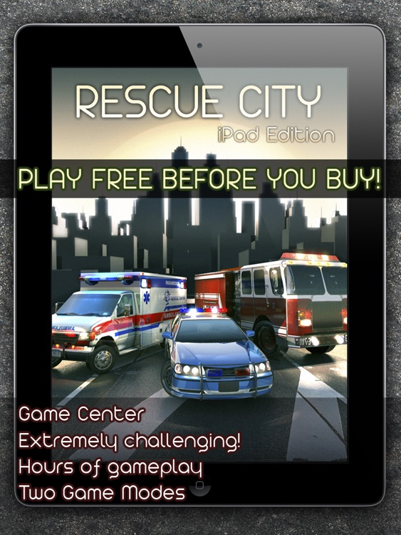 Rescue City iPad Edition screenshot-4