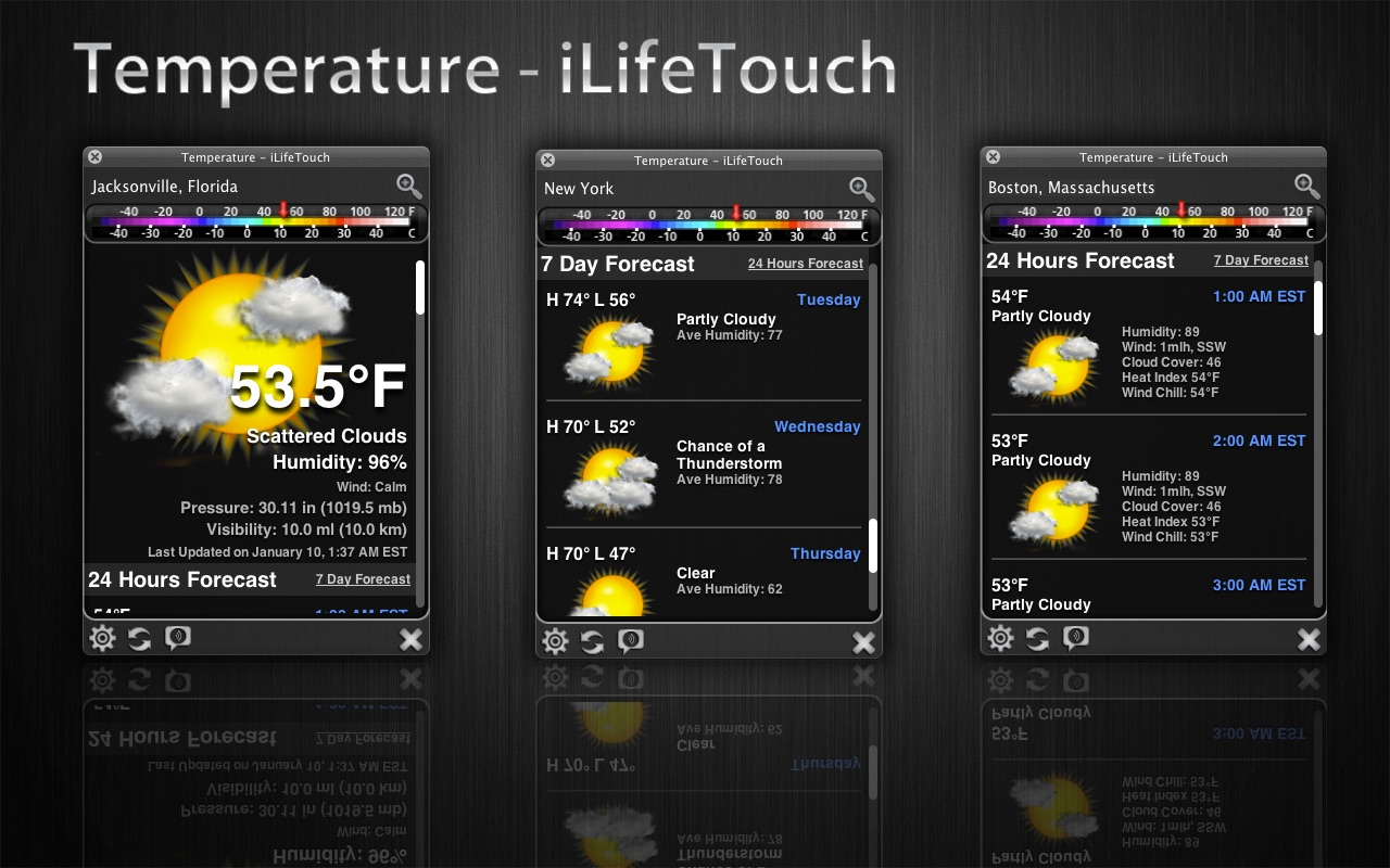 Temperature on the MacAppStore