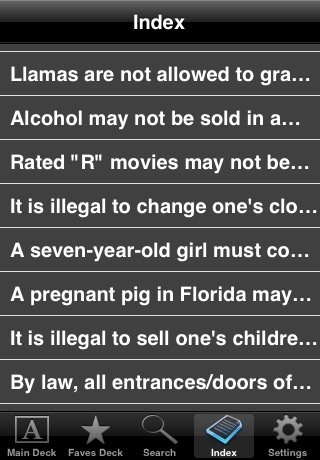 Amazing and Weird State Laws (Free!) screenshot-3