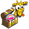 Giraffe's Matching Zoo Deluxe - Featuring the FUN BUTTON! - Tomato Interactive LLC