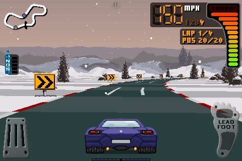 8 Bit Rally Screenshot