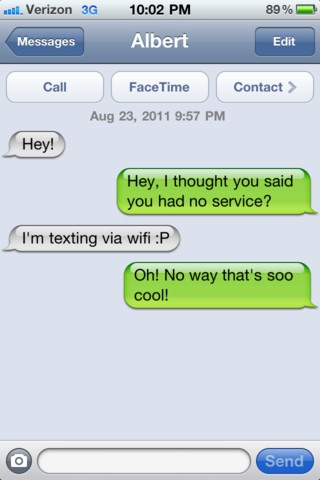 Wifi Texting screenshot-3
