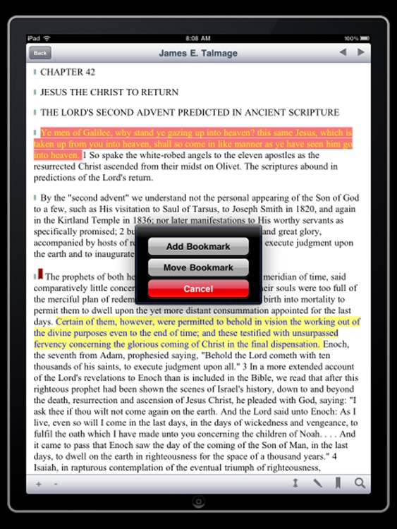 James E. Talmage Collection for iPad screenshot-2