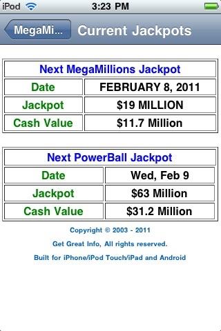 MegaMillions Results screenshot-4