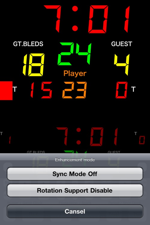 Basketball Scoreboard -Dejibo- screenshot-4