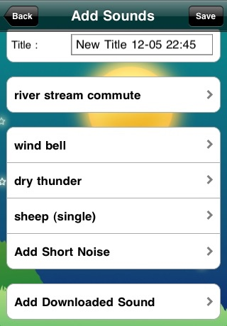 aRelax Sound Sleep Lite screenshot-3